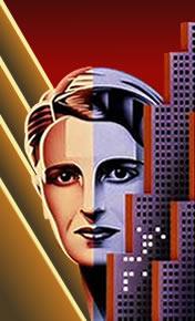 Ayn Rand 33¢ portrait